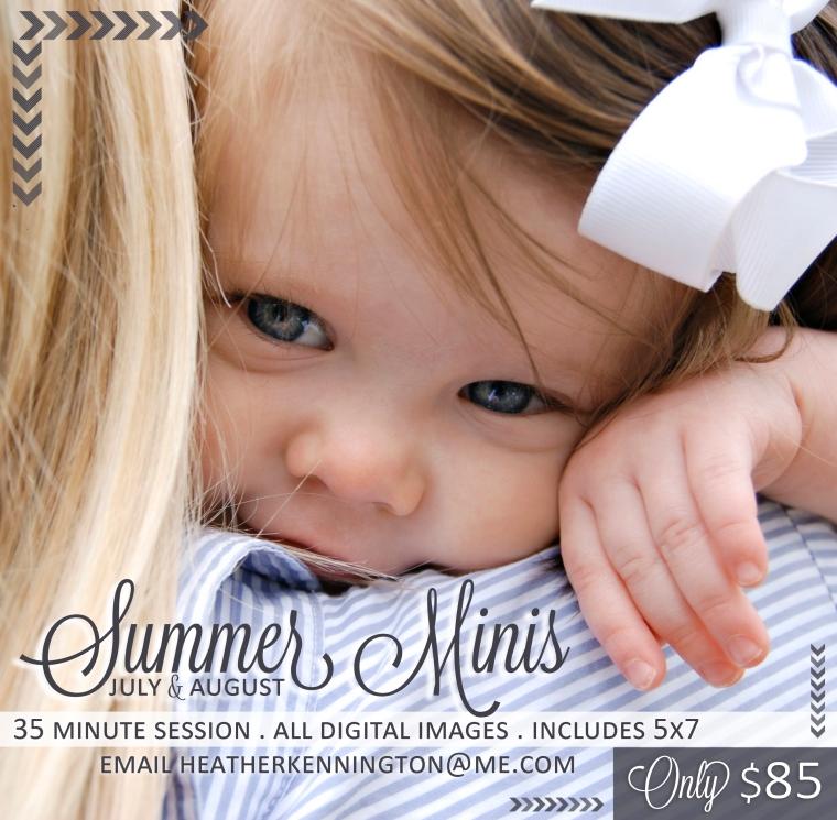Summer Minis Ad